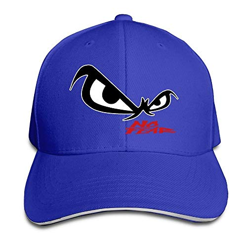 Youaini Unisex No Fear Owl's Eyes Sandwich Baseball Cap Royalblue