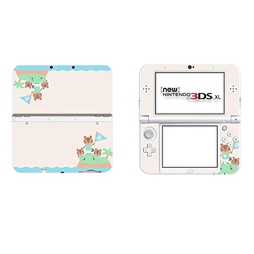 BLOUR Animal Crossing Full Cover Aufkleber Haut für Neue 3DS XL Aufkleber für Neue 3DS LL Vinyl Protector Skins Aufkleber