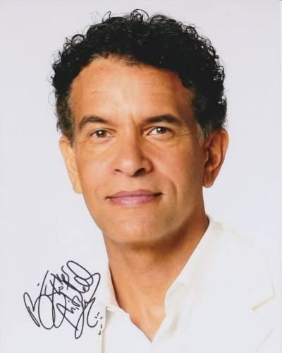 BRIAN STOKES MITCHELL Lowest price challenge Kansas City Mall signed photo autographed