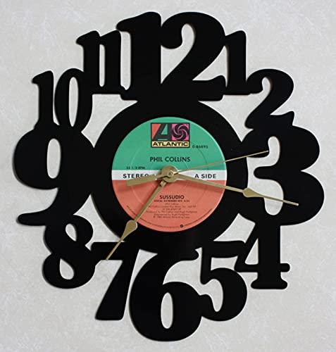 Phil Collins - Sussudio - Recycled LP Vinyl Record/Album Wall Clock S-16