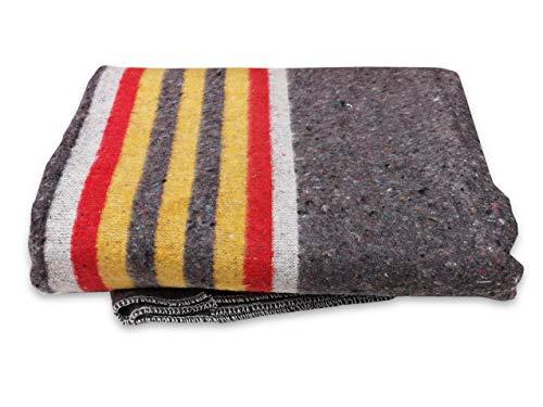 Lot de 5 couvertures de 150 x 200 cm - Extra solides.