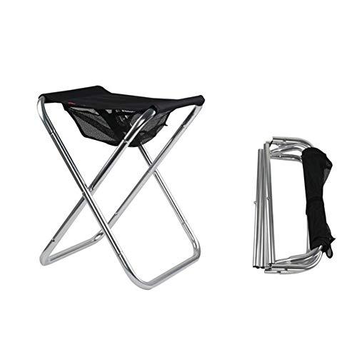 T-ara Suave y confortable Pesca plegable Silla plegable Silla Silla Ligera picnic camping al aire libre Bolsa Espesar portátil portante de carga portátil y práctico portátil Muebles de exterior diseño