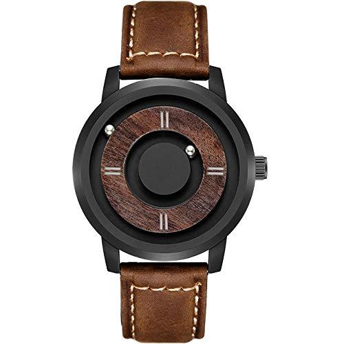 Reloj de Madera para Hombre, Relojes deBolas para Hombre, Esfera de Madera para Hombre, 14
