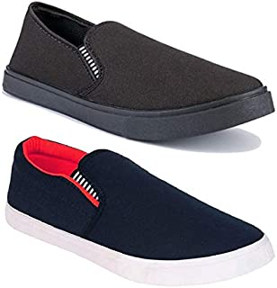 Shoefly Men Multicolor - Combo-(2)-487-1141-P Casual,Loafers,Sneakers, Sports Shoes, Running Shoes for Men,Cricket Shoes,C...