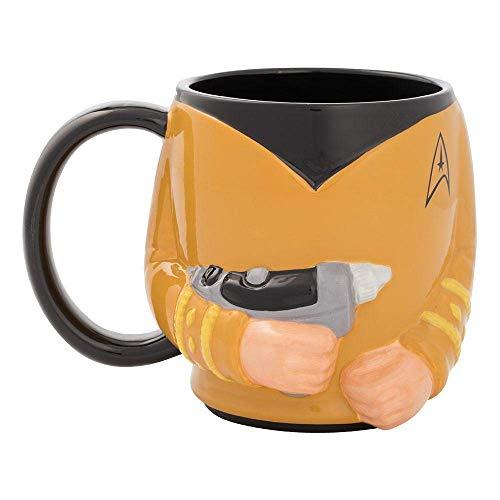 Vandor Capt. Kirk Sculpted Mug