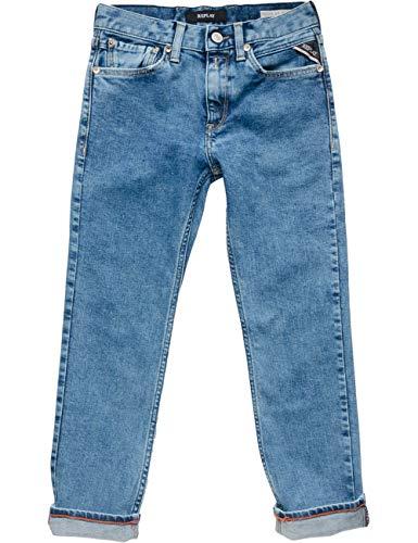 Replay Jungen SB9387.052.17B 809 Jeans, Blau (Denim 1), 140 (Herstellergröße: 10A)