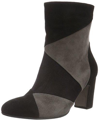 Gabor Shoes 55.881 Damen Halbschaft Stiefel, Mehrfarbig (schw./pazifik/zinn 17), 39 EU (6 Damen UK)