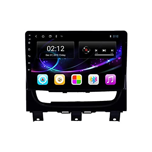YLCCC Coche Estéreo GPS Navegación para Fiat Strada Idea 2012-2016 Unidad Cabeza 1080P Pantalla Táctil Player Multimedia Radio Bluetooth/SWC/WiFi/Mirror Link/FM Am Receptor,4 Core 4G+WiFi: 2+32GB