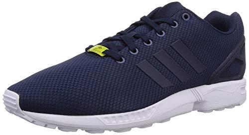 adidas Originals ZX Flux, Unisex-Erwachsene Low-top Sneakers, Blau (Dark Blue/Dark Blue/Core White), 46 EU (11 Unisex-Erwachsene UK)