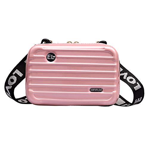 LOL lo Vrouwen Mini Harde koffer Polsband Crossbody Handtas Opbergdoos Cosmetische Case