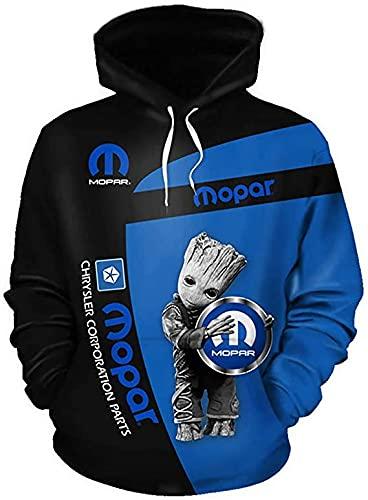 De gama alta personalizar M-O-P-A-R 3D logo impresión digital suéter camisas moda deportes sudaderas otoño invierno manga larga sudadera con capucha para hombres mujeres S a 5XL ropa ropa