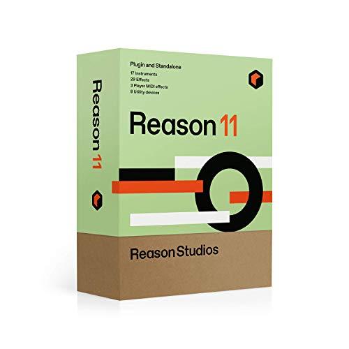Reason Studios Reason 11 - Software de reproducción y grabación de música para músicos Reason, Record y Student & Teacher