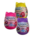 Squishmallows Squishville Mystery Mini Series 2 Plush Assortment Blind Package - Colors and Styles May Vary (3 Pack)