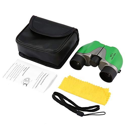 5x 15telescopio Binocular compacto, HD, todo óptico película verde para adultos y niños observación de aves senderismo conciertos viajes deporte juego