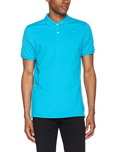 Clique Herren Premium Polo Shirt Poloshirt, Türkis (Turquoise 54), XL