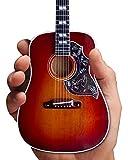 AXE HEAVEN Guitarra Colibrí Vintage Cherry 1:4 Escala Mini Modelo Réplica
