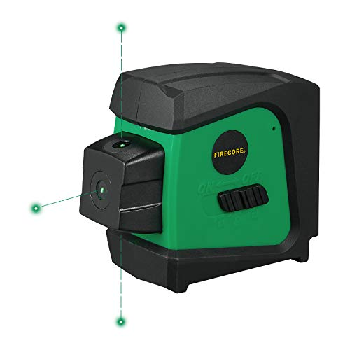 Firecore F333G Green 3-beam Self Leveling Alignment Laser