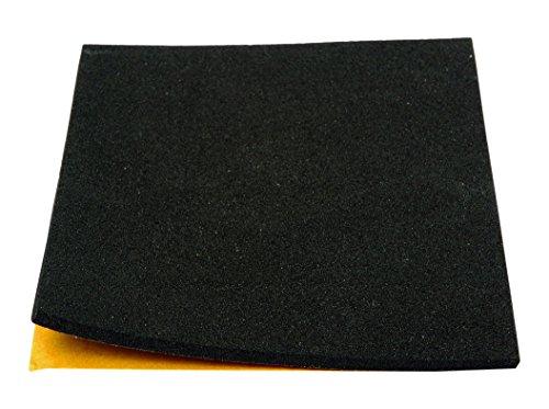 Brinox B78100N Antideslizante de caucho, Negro, 100 x 85 mm
