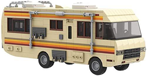 HYLL Técnica Breaking Bad Chemistry Chemistry RV Car, Car Compatible con Lego Technic - 648 PCS