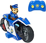 PAW Patrol, moto radiocomandata di Chase da PAW PATROL IL FILM, giocattoli per bambini dai 3 anni in su