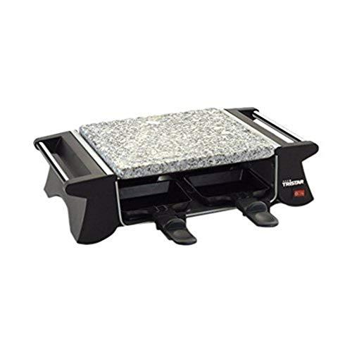 3. Tristar RA-2990 – Plancha de piedra para cocinar con potencia de 500 W para 2 personas