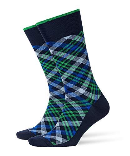 BURLINGTON Herren Cadogan M SO Socken, Blickdicht, Blau (Marine 6120), 40-46