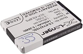 VINTRONS Rechargeable Battery 1450mAh For Sanyo 5AAXBT048GEA, SCP-43LBPS, DuraMax, DuraMax E4225, E4277, DuraXT