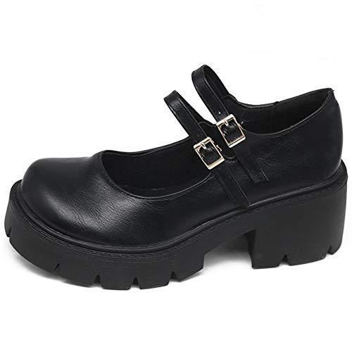 AOSPHIRAYLIAN Womens Gothic Lolita Shoes Platform...