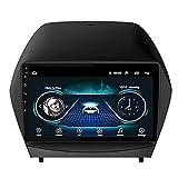 Android 8.1 - Radio estéreo de coche para Hyundai IX35 2010-2017, pantalla IPS de 9 pulgadas, navegación GPS, FM/Bluetooth/WiFi/SWC/Mirror-Link/cámara trasera