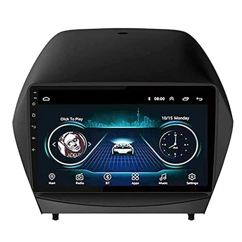 Android 8.1 - Testina stereo per auto per Hyundai IX35 2010-2017, schermo IPS da 9 pollici, navigazione GPS, FM/Bluetooth/WiFi/SWC/Mirror-Link/telecamera posteriore