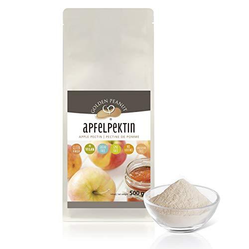Apfelpektin 500 g | natürliches Geliermittel | ohne Zusätze | glutenfrei| vegan | Golden Peanut