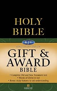 KJV Gift & Award Bible - Black (King James Bible)