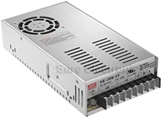 Mean Well SE-350-24 Power Supply, Switch Select, Enclosed, 350 Watt, 8.5