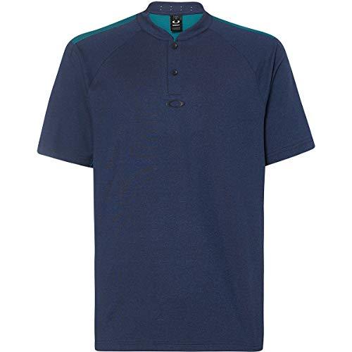 Oakley Men's Ergonomic Evolution Shirts,X-Large,Dark Blue Medium Heather