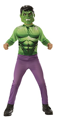 Avengers - Disfraz de Hulk para niño, infantil talla 3-4 años (Rubie'S 640922-S)