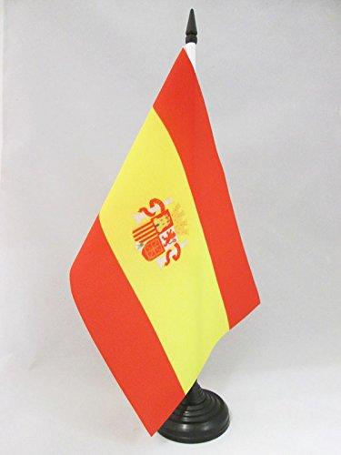 AZ FLAG Bandera de Mesa de la Primera REPÚBLICA DE ESPAÑA 1873-1874 21x14cm - BANDERINA de DESPACHO ESPAÑOLA Antigua 14 x 21 cm