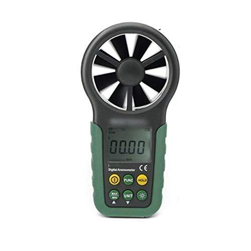 XUXUWA Windmesser, digitales Anemometer, Windgeschwindigkeit, Luftvolumenmessgerät, Windmessgerät, Anemometer (Farbe für Outdoor, Segeln, Surfen, Angeln, Schießen
