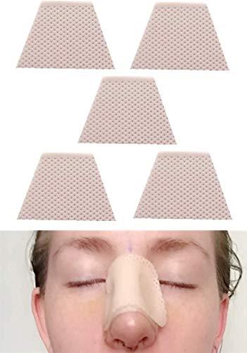 Férulas nasales termoplásticas - Protector de soporte externo para la nariz para fractura de la nariz, Rhinopla-sty Septopla-sty, ENT, inmob-ilization, ortopedia, 5 PCS (M)