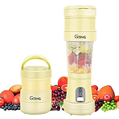 Portable Blender, G-TING Collapsible Personal S...