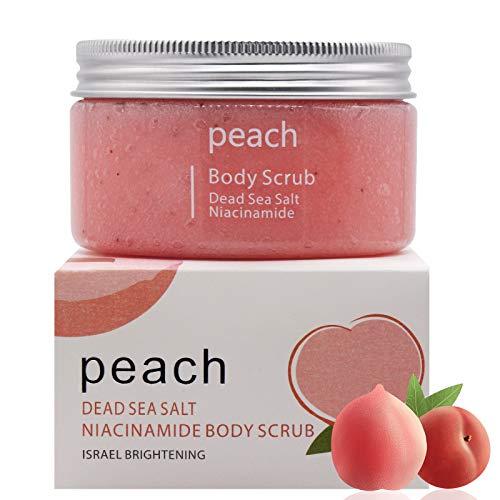 Körperpeeling Scrub, Body Scrub, Erfrischendes Körperpeeling, Ideal für die Dusche, Dampfbad und Sauna, Sanfte und wohltuend, 400g