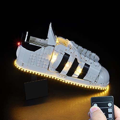 scarpe adidas con led WWEI Set di luci a LED RC per 10282 Adidas Superstar LED