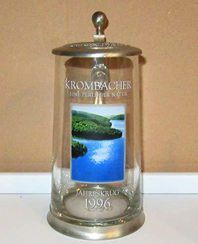 Krombacher Bierglas/Sammelkrug Jahreskrug / 1996 / echte Rarität