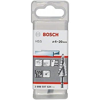 Bosch 2608588070 Fraise /Ã/©tag/Ã/©e queue six pans Longueur 70,5 mm Ex/Ã/©cution HSS-AlTIN