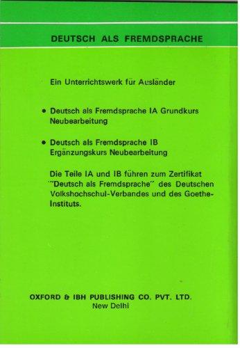 German As A Foreign Language Ia Glossary (Pb 2020)