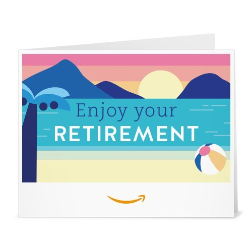 Amazon Gift Card - Print - Enjoy Your Retirement