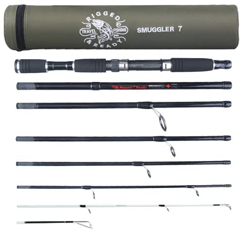 Smuggler 7 Travel Fishing Rod & Case. 260 cm (8' 6') 235cm (7' 8')...