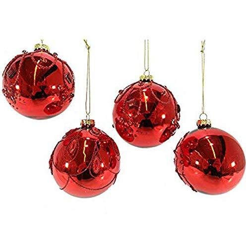 addobbi natalizi in vetro soffiato