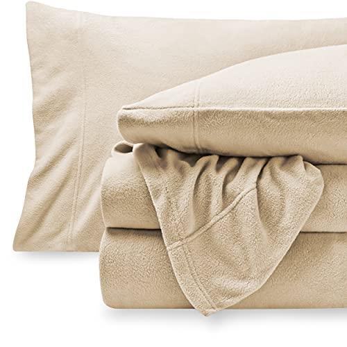 Bare Home Super Soft Fleece Sheet Set - Queen Size...