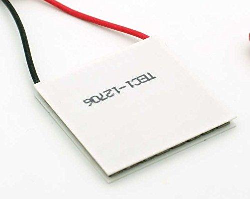 Celda Peltier Cell 6A 12V 91.2 Starter kit TEC1-12706