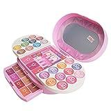Ruby569y Juego de maquillaje de simulación,Las niñas juegan juguetes de simulación,Novedad de múltiples capas maquillaje caso cosmético conjunto paleta niñas juego interactivo juguete